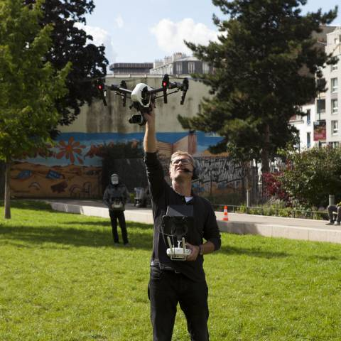 Shooting of 40 sites for EST ENSEMBLE (93) by D COM DRONE