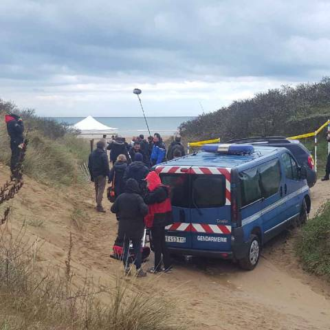MURDER AT OMAHA BEACH in Drone