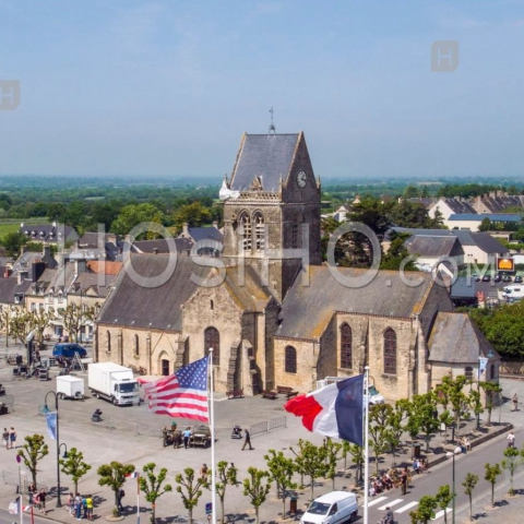 Featured on HOsiHO.com: Normandy seen from the sky!