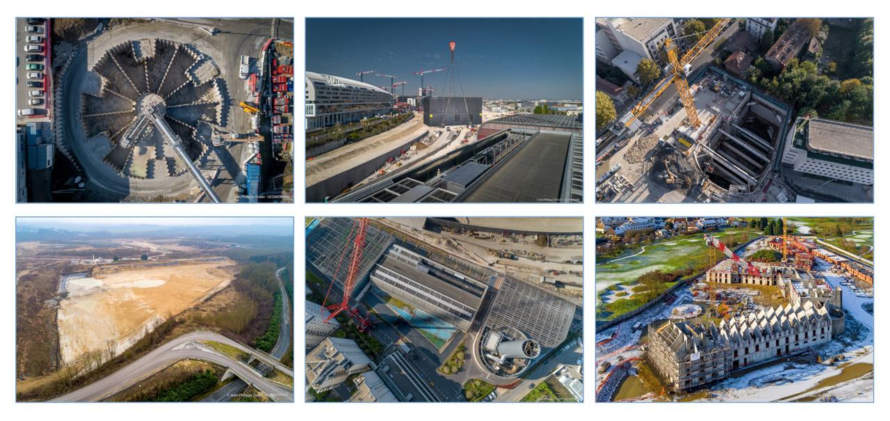 Photos par Drone DCOMDRONE - BTP Région Parisienne