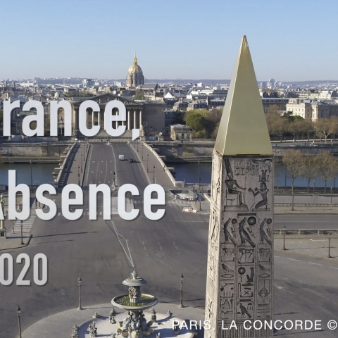 "Covid-19 Cities Lockdown: ""France in Absence"" video"