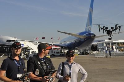Our team at the Paris Air Show