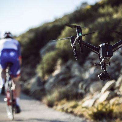 AIRbuzz provides the FDJ cycling team aerial shot every year