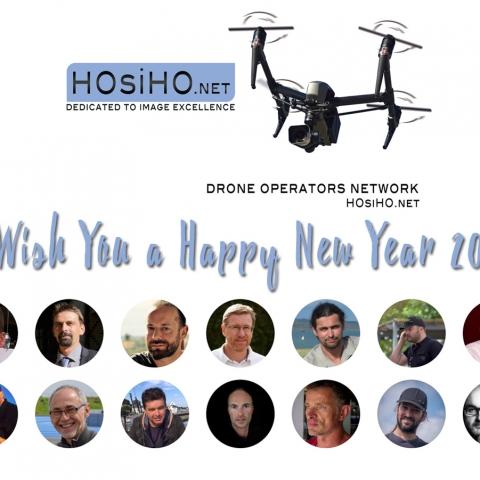 Voeux 2019 des télépilotes HOsiHO Drone Network