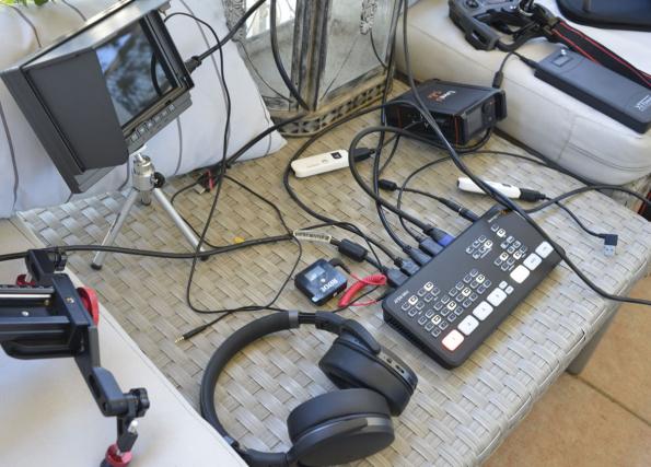 Dispositif portable pour Live Streaming par drone via mini-régie vidéo _DS13016 copie