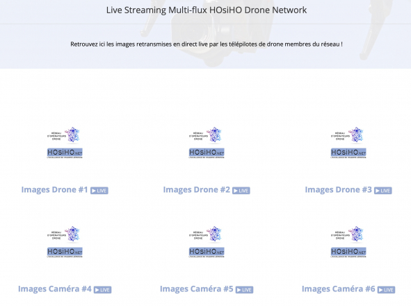 Page FR Live Streaming Multi-flux