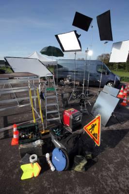 Notre camion technique et équipement pour tournages audiovisuel